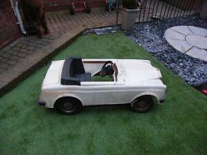 vintage Rolls Royce pedal car