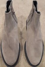 NEW Stuart Weitzman Taupe Suede Platform Ankle Bootie size 8 $595