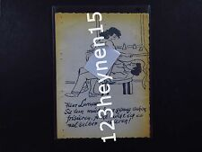 Card Drawing naked young girl woman man Sex sexual relations hairdresser Lumpert