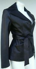 East 5th Women's Size Small Petite S/P Black Leather Jacket Coat All Categories