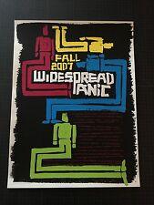 Vtg Widespread Panic Fall Tour 2007 Bilheimer 1st Edition Free Ship Phish