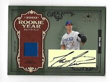 MARK PRIOR 2004 Donruss Timeless Treasures Rookie Year auto patch /22 Chicago Cu