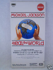 Michael Jackson Edition 2 Heal The World 3' Promo Japan ESDA 7118
