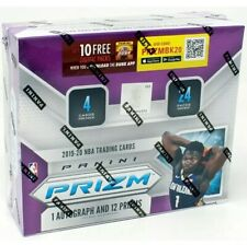 2019/20 PANINI PRIZM BASKETBALL RETAIL BOX! ONE AUTO PER BOX!! ZION? Ja? ROOKIE
