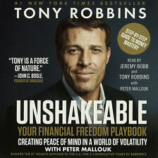 Unshakeable: Anthony Robbins - Unabridged Audio Book 7CDs