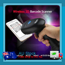 1D/2D Full Code USB Bluetooth CCD Barcode Scanner Handheld For iPhone Android PC