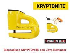 9520 - Bloccadisco KRYPTONITE KEEPER 5-S2 Giallo per Moto HARLEY DAVIDSON