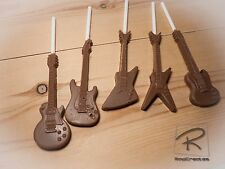 Guitar Belgian chocolate x 5 les paul/explorer/sg/dean ML/stratocaster/music
