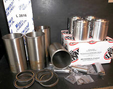 ARIEL SQUARE FOUR 4G MKI & MkII 1000cc STD PISTON KIT & CYLINDER SLEEVES LINERS