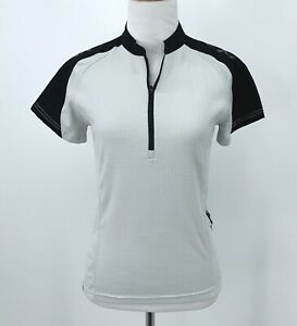 Bontrager Cycling Jersey Women's Size XS Short Sleeve 1/2 Zip Pullover Shirt