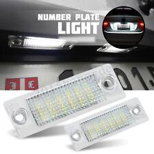 2pc LED License Number Plate Light Lamp For VW Touran Golf Passat Jetta Caddy T5