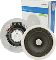 """C8D Ceiling Speaker With Directional Tweeter 120w 8"""" Inch White Adastra  952.543"""