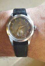 Vintage CYMA WATERSPORT PIE PAN DIAL 17J Cal. R.458 Tavannes Rare Original!!