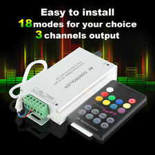 RF Radio Frequency LED Color Light With Music Controller Rhythm Audio Controller
