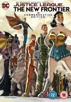 Justice League: The New Frontier DVD (2017) Dave Bullock cert 12 ***NEW***