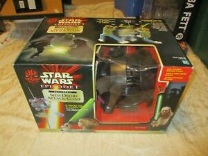 NEW STAR WARS EPISODE I SITH DROID ATTACK GAME ELECTRONIC
