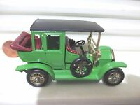 Lesney Matchbox Y3B 1910 BENZ LIMO Light Green with BLACK Roof Mint in Excnt Box
