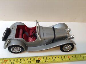 Lot vintage 🚗  Bburago Jaguar ss100 1:18 Bellissima 🚗  TOP RARE!