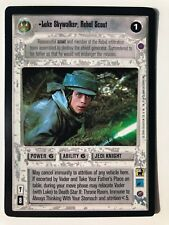 Star Wars CCG Luke Skywalker, Rebel Scout | Reflections II | NM/MT +Bonus!
