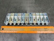 Republic Steel Shelf Clips Industrial Metal Shelving Hooks Lot Of Eleven 11