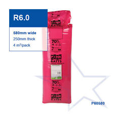 R6.0 | 580mm Pink Batts® Thermal Glasswool Ceiling Insulation
