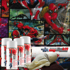 Hydro Dipping Water Transfer Printing Hydrographic Dip Kit Spiderman 918
