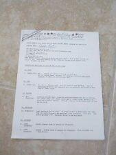 BLACK SABBATH RARE 1983 Concert Contract & Rider Copy 22 Page Quiet Riot Opener