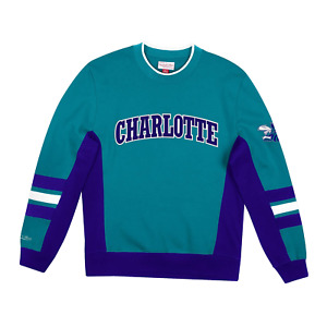 Men's Mitchell & Ness Hi-Res Blue NBA Charlotte Hornets Home Town Champs