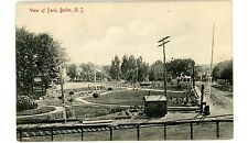 Butler NJ - VIEW OF PARK FROM RAILROAD - Postcard