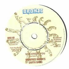 """Manfred Mann's Earth Band - You Angel You - 7"""" Vinyl Record Single"""