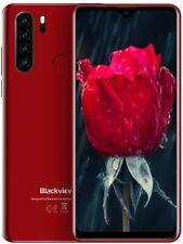 "Blackview A80 Pro 4G Smartphone ohne Vertrag 6,49"" 4GB 64GB Dual SIM Handy Rot"