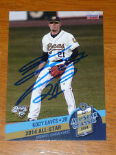 KODY EAVES Angels Signed 2014 Midwest League All Star AUTO Card Autograph QTY