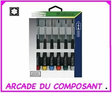 LOT DE 6 TOURNEVIS DE PRECISION TORX (ref 65074-1)