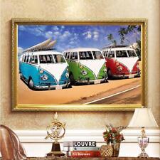 3 Car DIY 5D Diamond Rhinestone Painting Embroidery Cross Stitch Mosaic Art Home