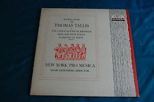 Sacred Music of Thomas Tallis New York Pro Musica Greenberg Decca 9404