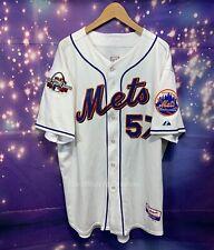 New listing 2009 Johan Santana New York Mets MAJESTIC Cool Base MLB Jersey ASG