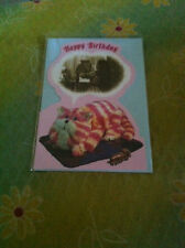 BN Happy Birthday Bagpuss Card with Cutout design with Bagpuss dreaming of Emily