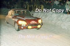 Francisco ROMAOZINHO Citroen DS21 Monte Carlo Rally 1972 fotografía