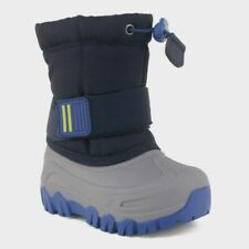 NEW Cat & Jack Toddler Boys' Barrett Winter Boots - Navy ~ Size 4