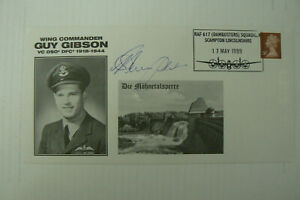 1999 FDC GUY GIBSON (DAM BUSTER) SIGNED BY ADJUTANT HARRY HUMPHRIES