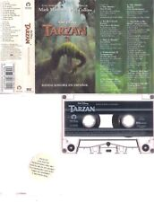 PHIL COLLINS Tarzan   RARE SPANISH SUNG CASSETTE      SPAIN    DISNEY GENESIS