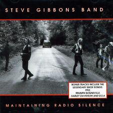 Steve Gibbons - Maintaining Radio Silence [New CD]