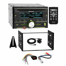 Pioneer CD USB Sirius Stereo Dash Kit Amp Harness for 98+ Ford Lincoln Mercury