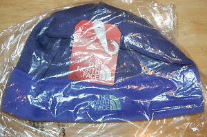 north face womens agave beanie double layered ear band purple water resistant