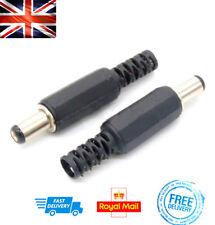 X 1 Maschio Botte Giacca 5,5 x 2.5mm Presa Spina Dc 12v Elettrico Connettori