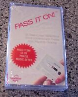 "Maranatha's Praise and Worship Music Sampler ""Pass It On"" SEALED NM CASSETTE"