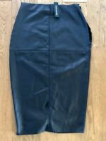 River Island Black Pencil Skirt Size 8  BNWT with defect needs new zip repair