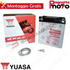BATTERIA YUASA YB12AL-A MALAGUTI MADISON RS RESTYLING 250 2004>2005