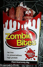 ZOMBIE FINGER FRIES TAKE OUT HALLOWEEN OR PARTY FAT FREE TRICK OR TREAT DECOR