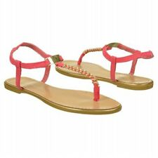 MADDEN GIRL *MELLOWED*  FLAT SANDALS COLOR CORAL SIZE 10 M